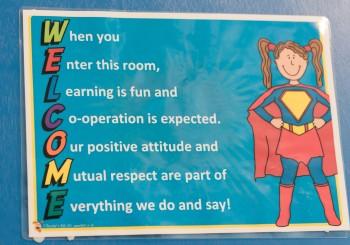 St Anne's School- our School Motto- MOL AN ÓIGE AGUS TIOCFAIDH SÍ